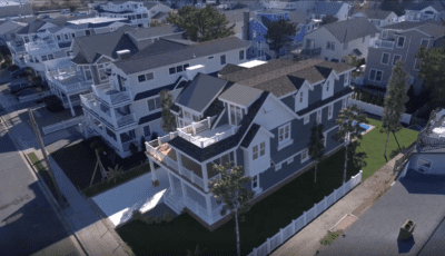 Drone Video with Virtual Rendering of New Home 3D Model